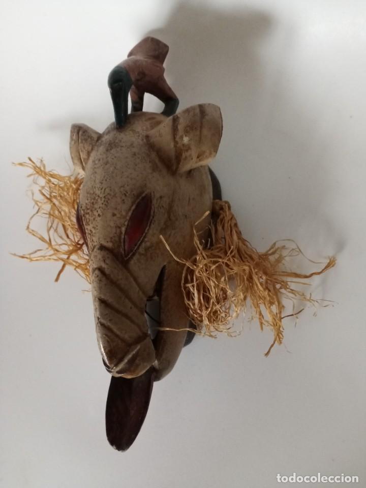 MASCARA AFRICANA MADERA (Arte - Escultura - Madera)