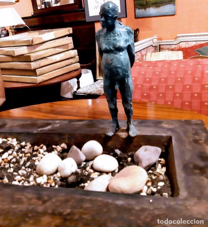 "Arte: Escultura bronce ""hombre en la piscina"" - Foto 4 - 229054120"
