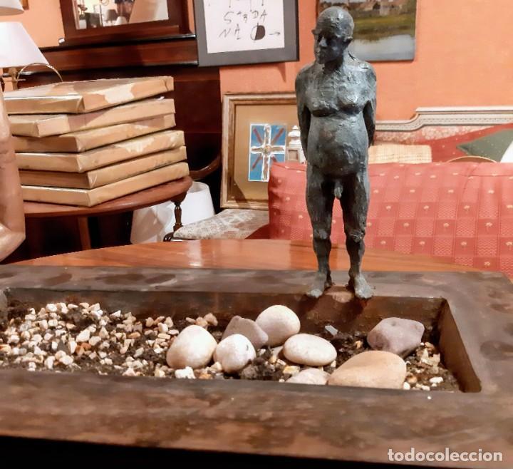 "Arte: Escultura bronce ""hombre en la piscina"" - Foto 7 - 229054120"
