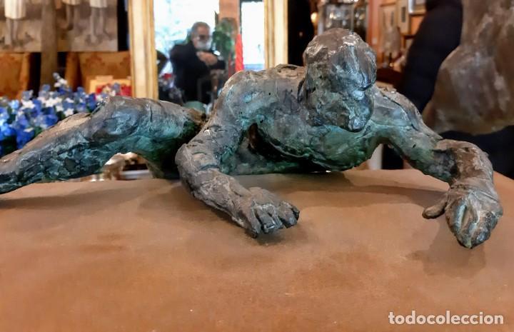 """FERNANDO SUAREZ, ESCULTURA. """"CORNISA"""" (Arte - Escultura - Hierro)"""