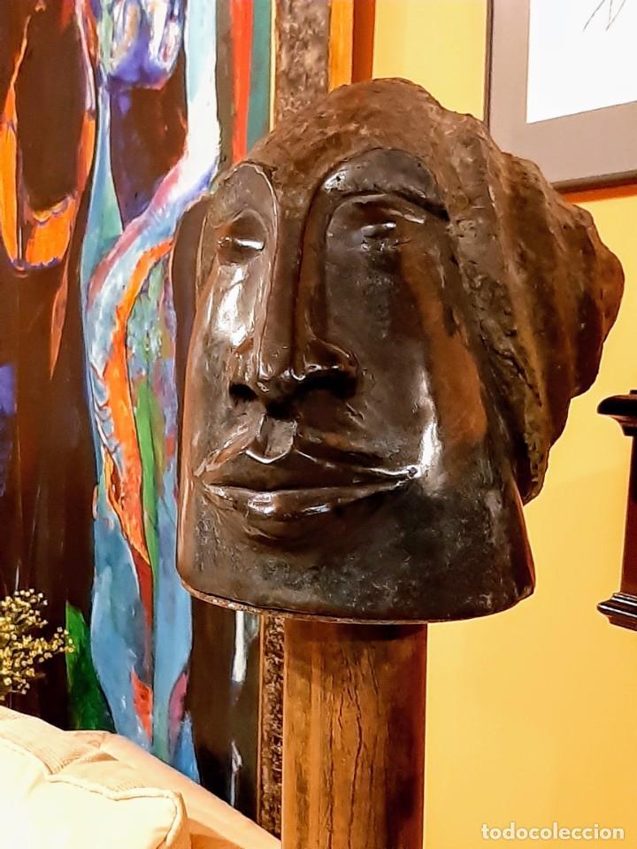 "Arte: Javier Rodanes Ovejas ""Cabeza con espiral"" - Foto 5 - 230033140"