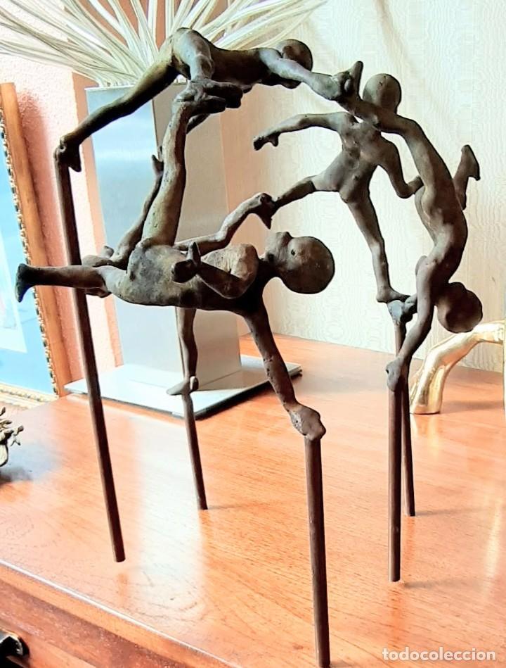 """Arte: Jesus Curia """"Niños Bailando"""" - Foto 8 - 230180350"""