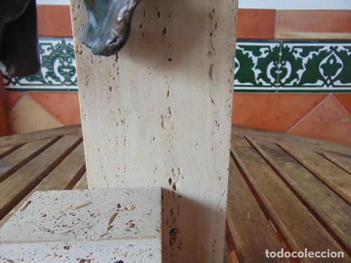 Arte: ESCULTURA EN RESINA RECUBIERTA DE BRONCE Y MÁRMOL DE JOSE LUIS CASASOLA NUMERADA Y LIMITADA EBANO - Foto 3 - 230342270