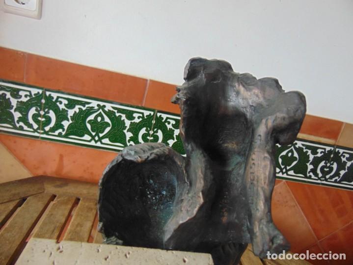 Arte: ESCULTURA EN RESINA RECUBIERTA DE BRONCE Y MÁRMOL DE JOSE LUIS CASASOLA NUMERADA Y LIMITADA EBANO - Foto 9 - 230342270