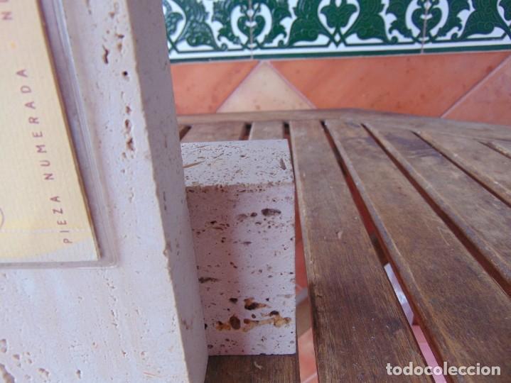 Arte: ESCULTURA EN RESINA RECUBIERTA DE BRONCE Y MÁRMOL DE JOSE LUIS CASASOLA NUMERADA Y LIMITADA EBANO - Foto 11 - 230342270