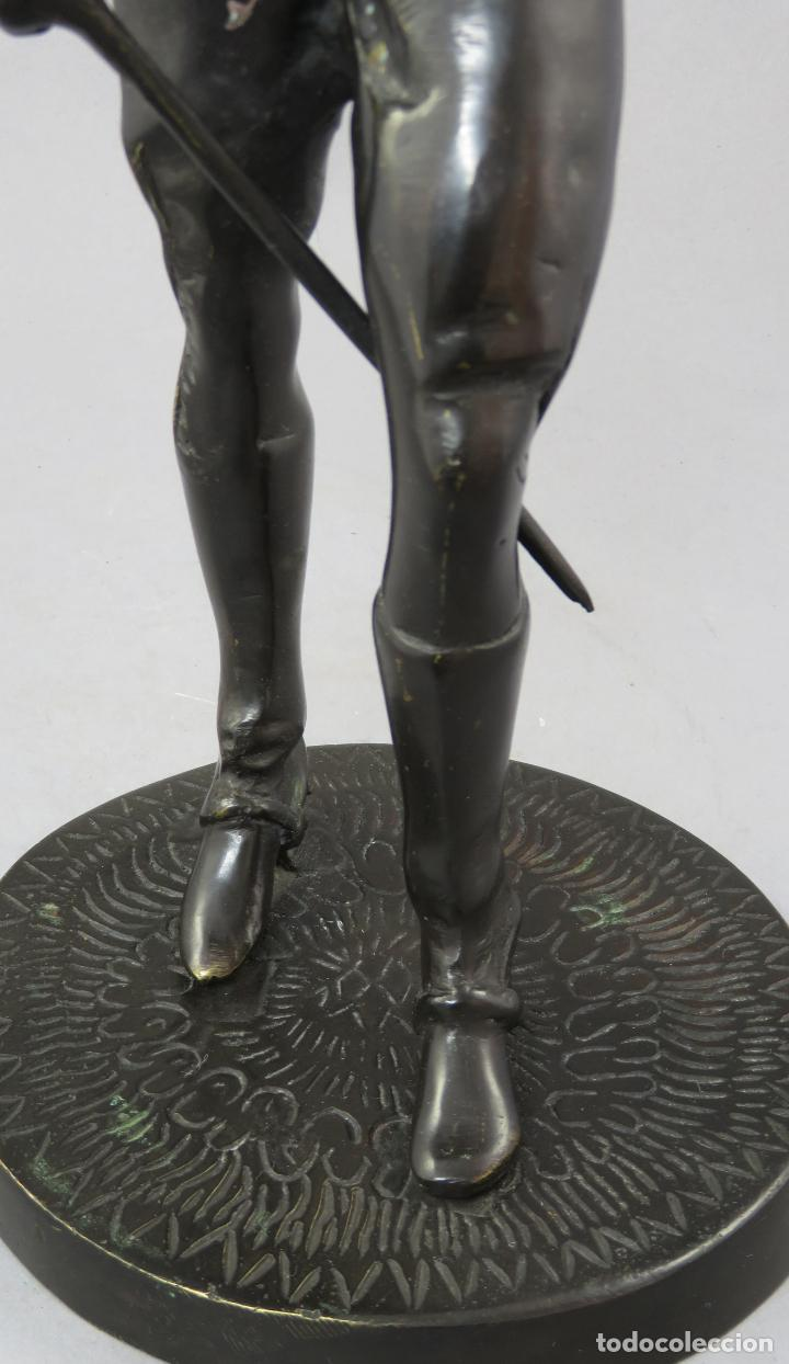 Arte: Escultura soldado húsar de la Princesa en bronce pulido siglo XX - Foto 12 - 230361210