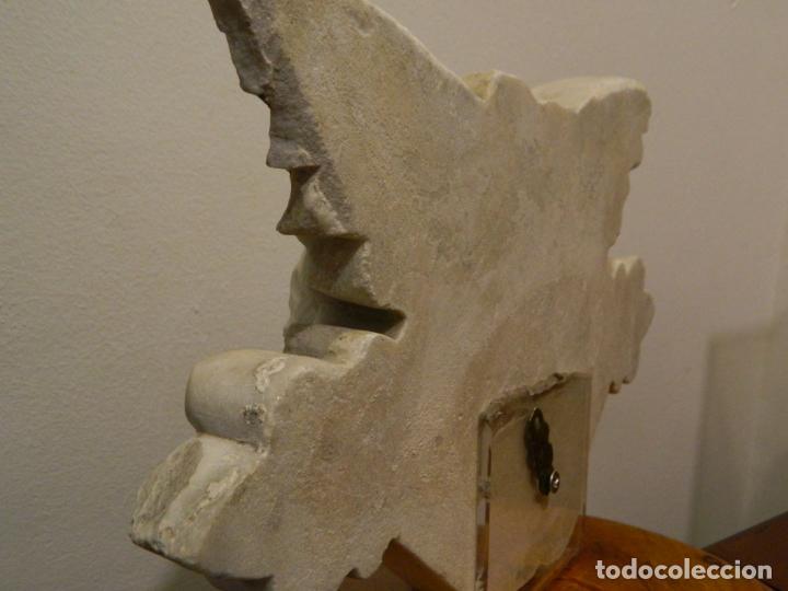 Arte: Angel marmol esculpido, Escuela española, estilo gótico. - Foto 12 - 230756450