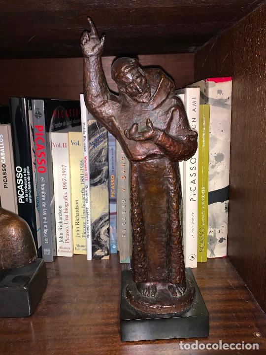 Arte: Sant Francesc assis en bronce de Manolo Hugué - Foto 15 - 231382760