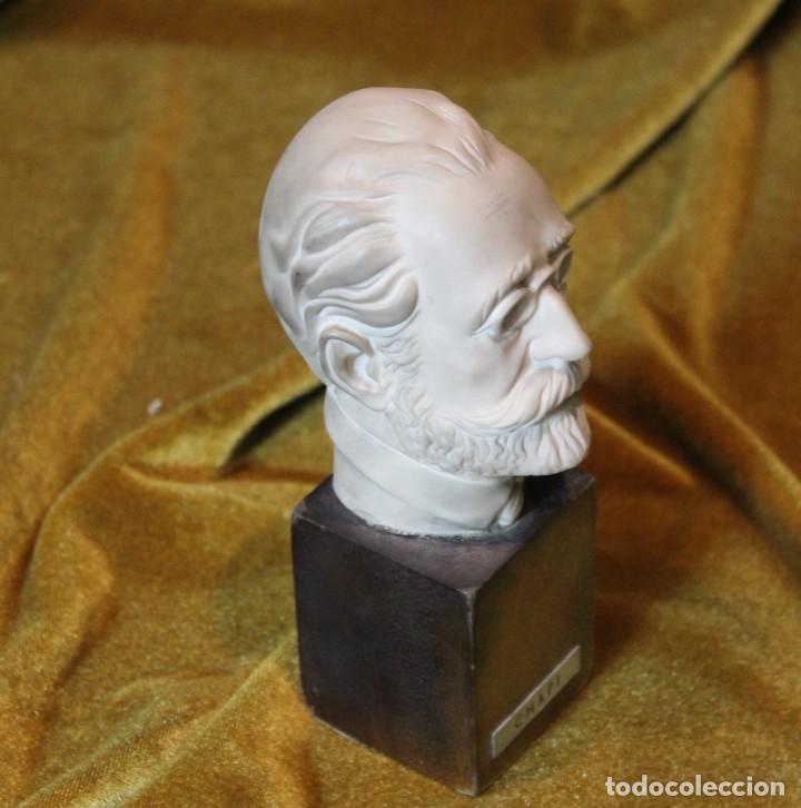 Arte: Ruperto Chapí, busto, 17 cm - Foto 2 - 232320800