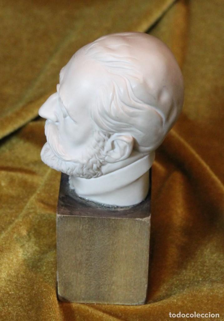 Arte: Ruperto Chapí, busto, 17 cm - Foto 3 - 232320800