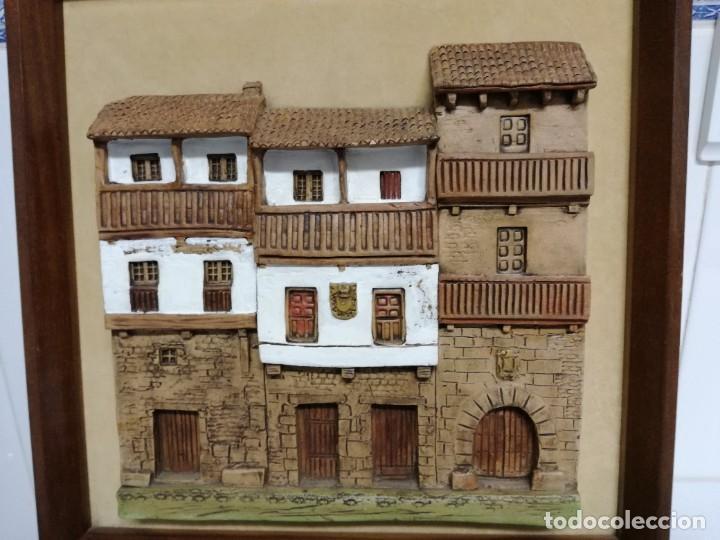 CUADRO TERRACOTA DE OSCAR BREGANTE (Arte - Escultura - Terracota )