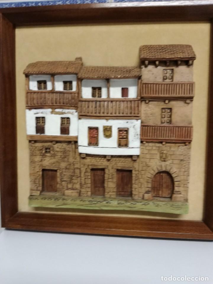 Arte: Cuadro terracota de Oscar Bregante - Foto 2 - 233755985