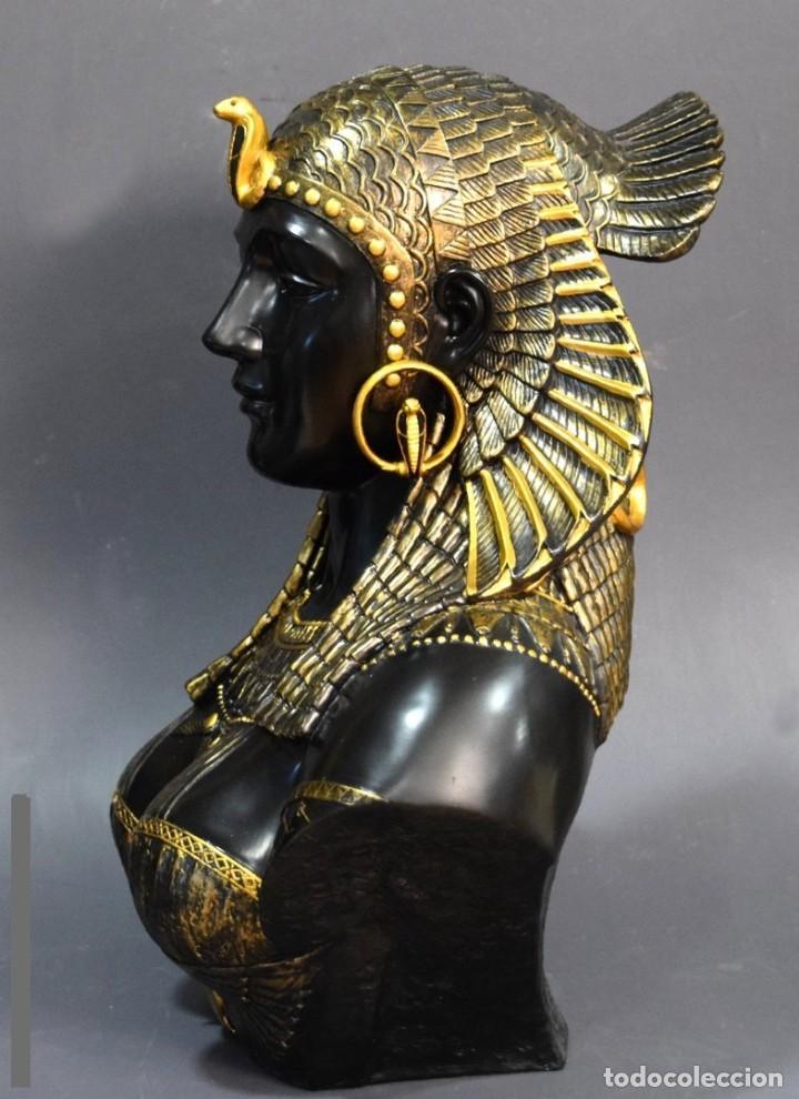 Arte: Busto de Cleopatra Estilo Imperio. Alt 51cm - Foto 2 - 233867995