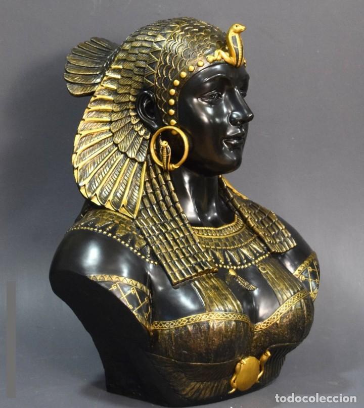 Arte: Busto de Cleopatra Estilo Imperio. Alt 51cm - Foto 3 - 233867995