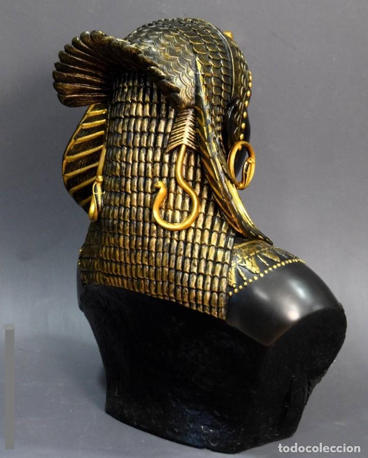 Arte: Busto de Cleopatra Estilo Imperio. Alt 51cm - Foto 4 - 233867995