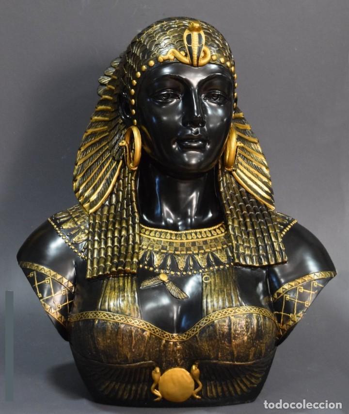 Arte: Busto de Cleopatra Estilo Imperio. Alt 51cm - Foto 5 - 233867995