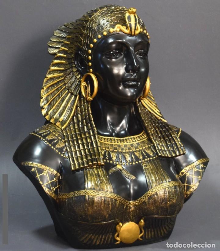 Arte: Busto de Cleopatra Estilo Imperio. Alt 51cm - Foto 6 - 233867995