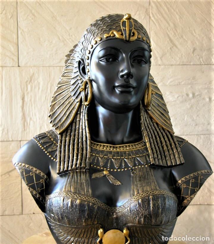 Arte: Busto de Cleopatra Estilo Imperio. Alt 51cm - Foto 7 - 233867995