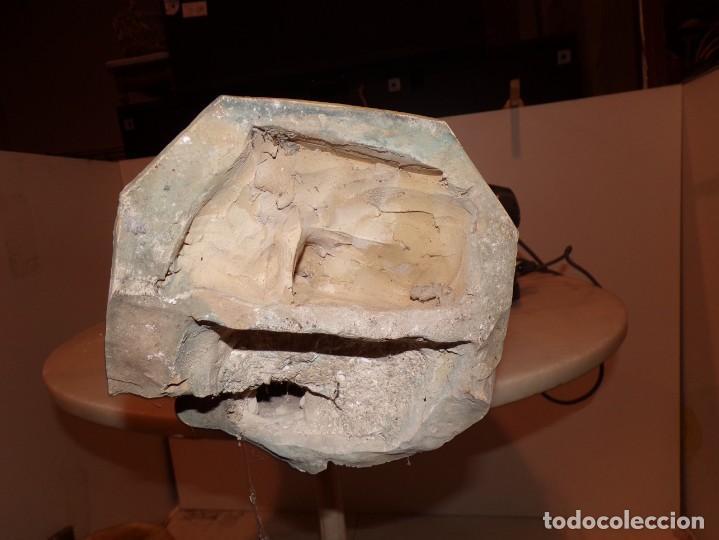 Arte: antigua escultura soldado parece egipcio de terracota de 92 cm altura ¿vallmitjana? - Foto 18 - 234703250