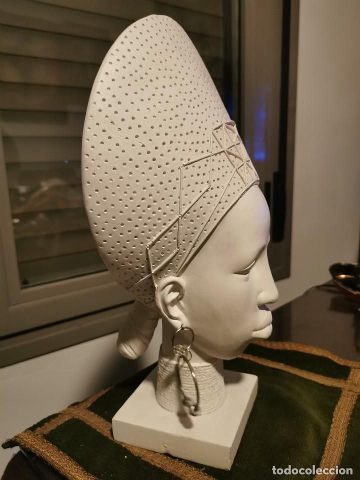 Arte: Escultura de chica africana. 2 - Foto 3 - 234763915
