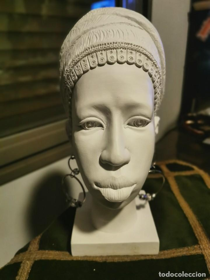 Arte: Escultura de chica africana. 3 - Foto 2 - 234765950