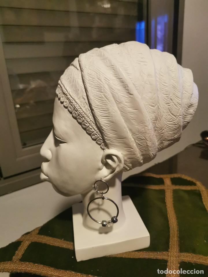 Arte: Escultura de chica africana. 3 - Foto 4 - 234765950