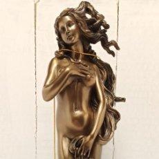 Arte: FIGURA ESCULTURA RESINA VERONESE DE SIGRIS (BRONCE/BRONCE ENVEJECIDO) DIOSA GRIEGA VENUS. Lote 234835465