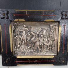 Arte: JEAN-BAPTISTE GERMAIN 1841-1910, ESPECTACULAR ESCULTURA, BRONCE BLANCO. Lote 235152670