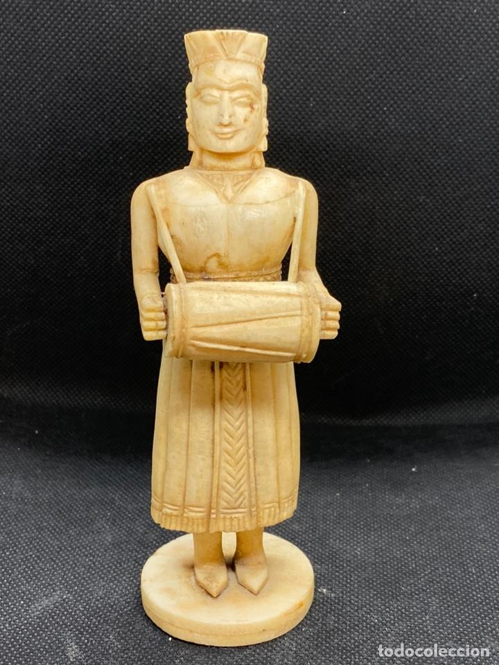 Arte: Tallas Coloniales GOA india en Hueso - Foto 5 - 194949175