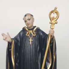 Arte: BONITA TALLA DE MADERA DE SAN BENITO. SIGLO XVIII. MEDIDAS: 53 CM.. Lote 235340650