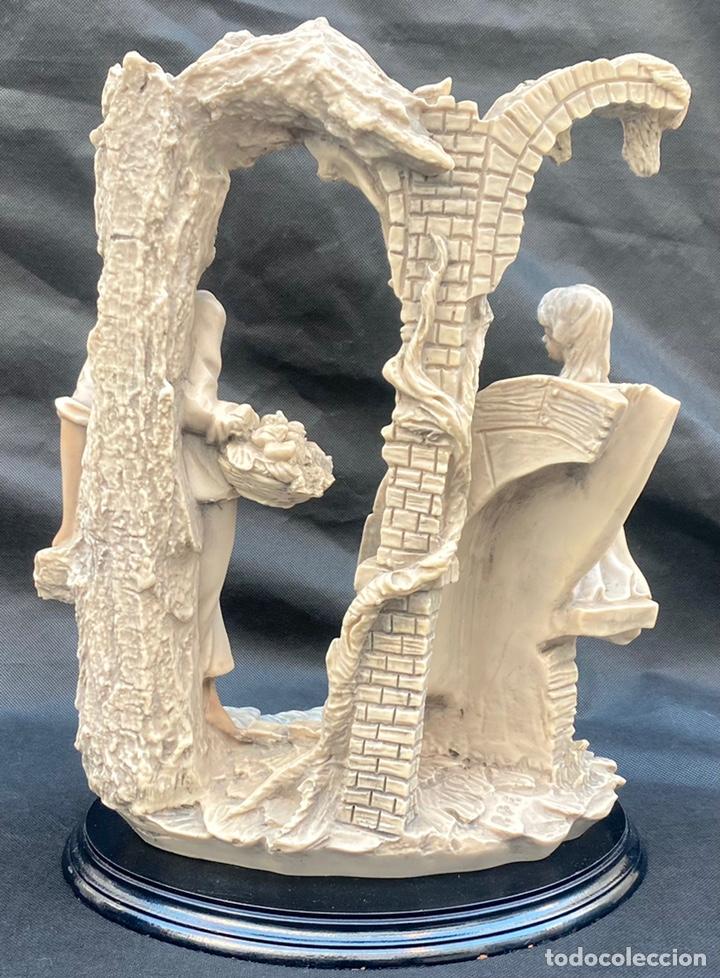 Arte: BRONCES PORTUGAL. Escultura pareja en el molino Bronces Portugal - Foto 7 - 235579885