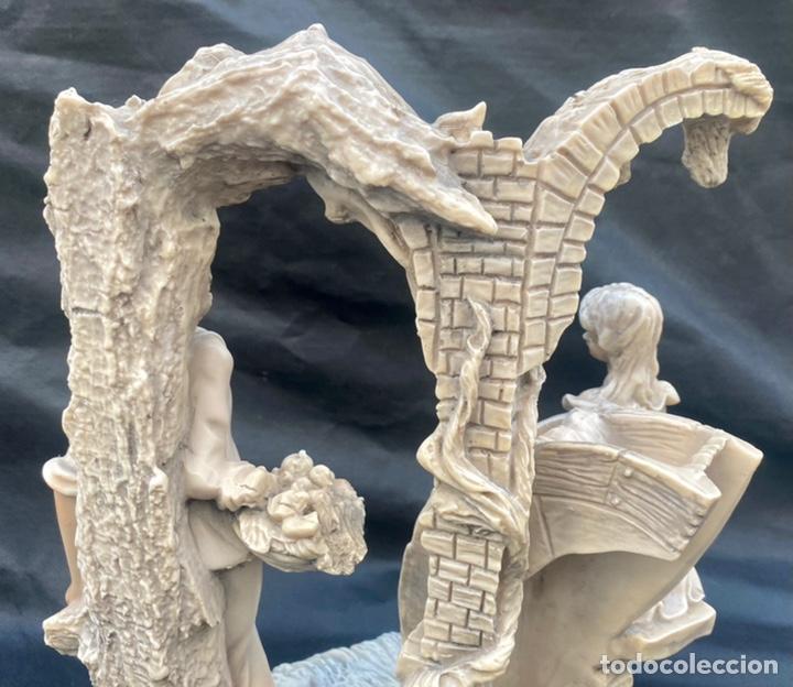 Arte: BRONCES PORTUGAL. Escultura pareja en el molino Bronces Portugal - Foto 8 - 235579885