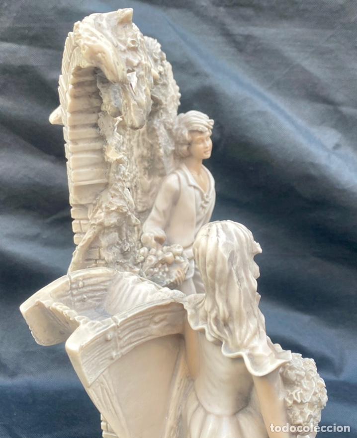 Arte: BRONCES PORTUGAL. Escultura pareja en el molino Bronces Portugal - Foto 12 - 235579885