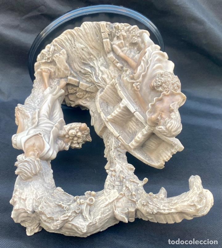 Arte: BRONCES PORTUGAL. Escultura pareja en el molino Bronces Portugal - Foto 14 - 235579885