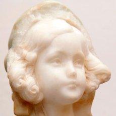 Arte: FRIEDRICH GOLDSCHEIDER - ALABASTRO - SALA PARES - SELLO DEL ESCULTOR - C. 1910. Lote 235631835