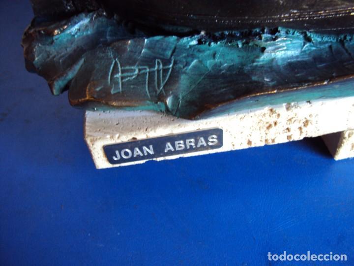 Arte: (ANT-210130)BRONCE JOAN ABRAS - BARCA PESQUERA - CARMEN - Foto 3 - 235897480