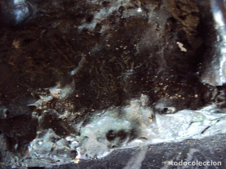 Arte: (ANT-210125)MAGNIFICA ESCULTURA FIGURA TORO DE BRONCE SOBRE PEANA DE MARMOL-FIRMADO - Foto 13 - 236312125