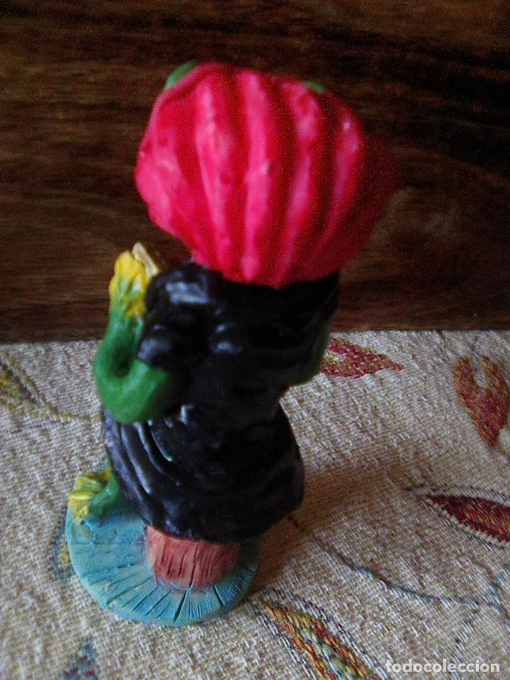 Arte: Preciosa figurita en resina pintada en vivos colores - Foto 4 - 236518735