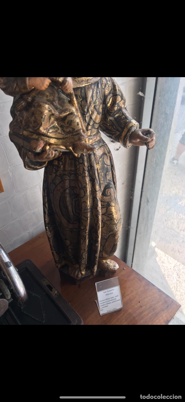 Arte: San antonio siglo xvii - Foto 3 - 236752545