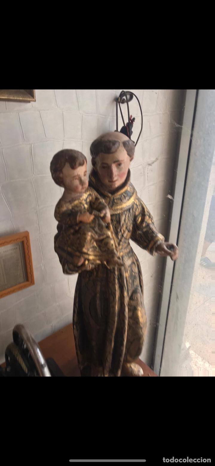 Arte: San antonio siglo xvii - Foto 10 - 236752545