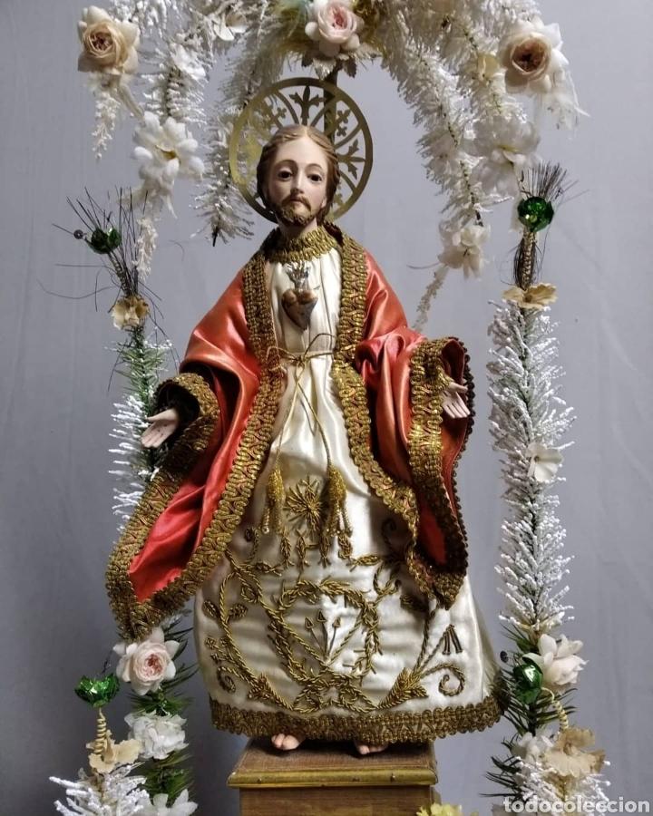 Arte: Fanal con Sagrado Corazón - Foto 3 - 236818255