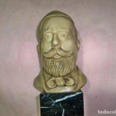 Arte: ANTIGUA FIGURA DE RESINA DEL FAMOSO COMPOSITOR Y PIANISTA ESPAÑOL ISAAC ALBENIZ. Lote 237186615