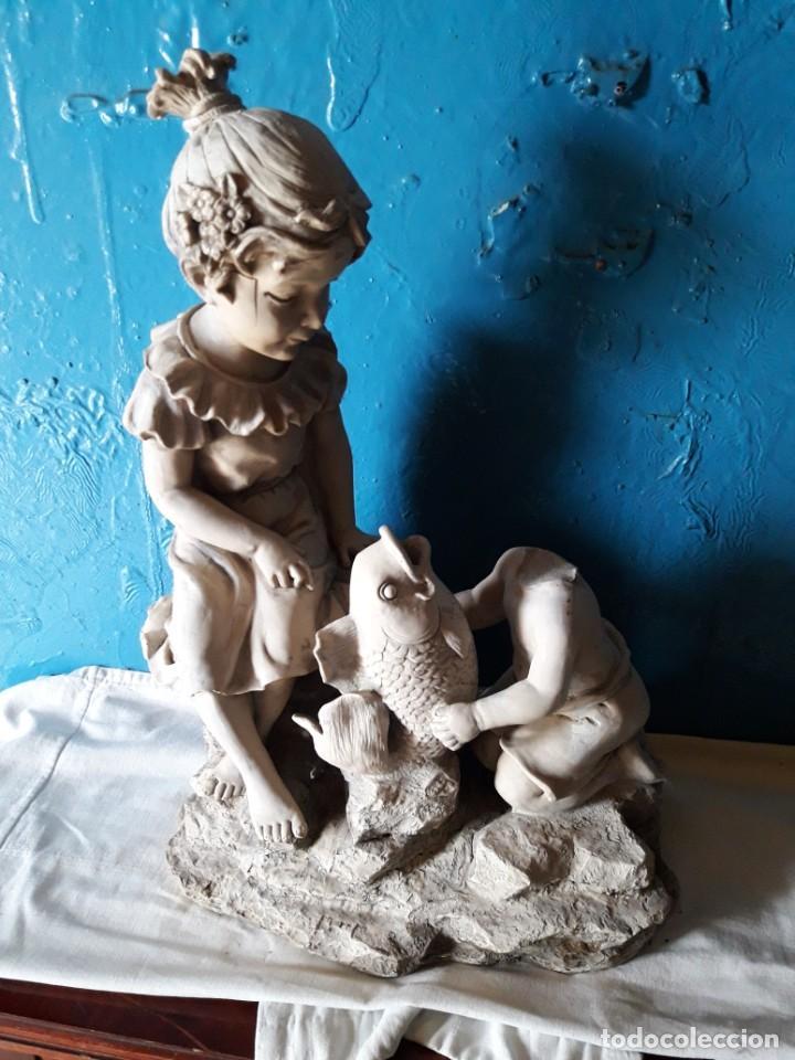 FUENTE (Arte - Escultura - Resina)