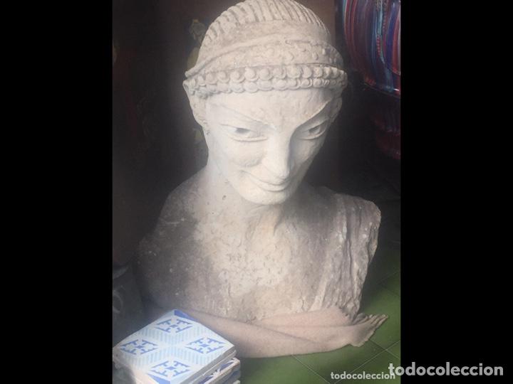 Arte: Busto de piedra 85x85x50cm(pieza para recoger en Mallorca) - Foto 2 - 237354385