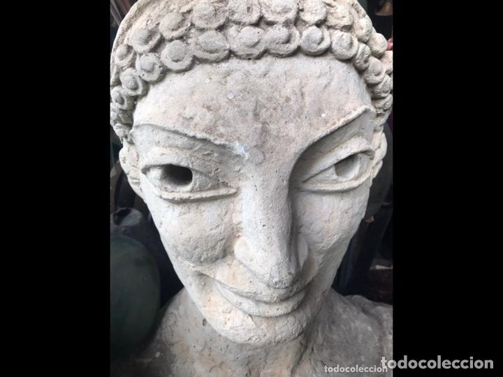 Arte: Busto de piedra 85x85x50cm(pieza para recoger en Mallorca) - Foto 11 - 237354385