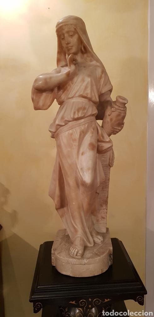Arte: Escultura modernista de alabastro - Foto 2 - 54772084