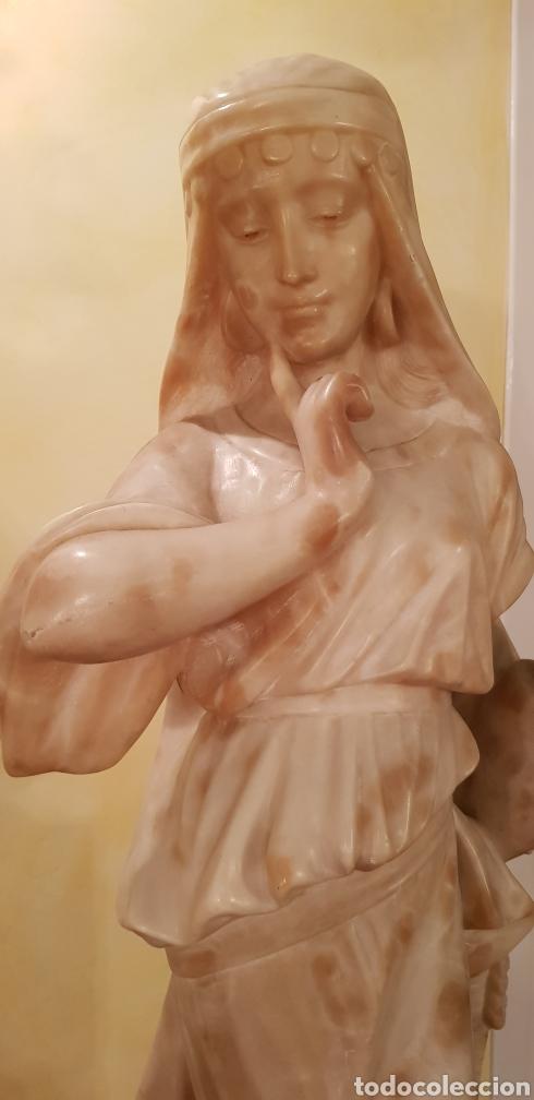 Arte: Escultura modernista de alabastro - Foto 3 - 54772084