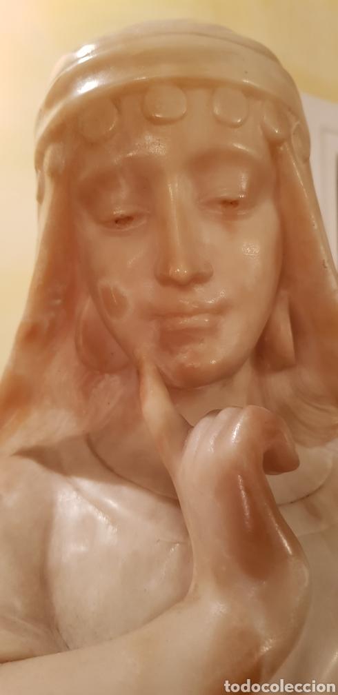 Arte: Escultura modernista de alabastro - Foto 4 - 54772084