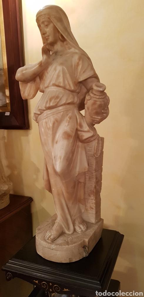 Arte: Escultura modernista de alabastro - Foto 5 - 54772084