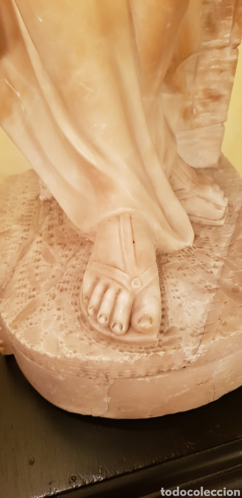 Arte: Escultura modernista de alabastro - Foto 6 - 54772084
